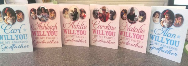 Godmother cards