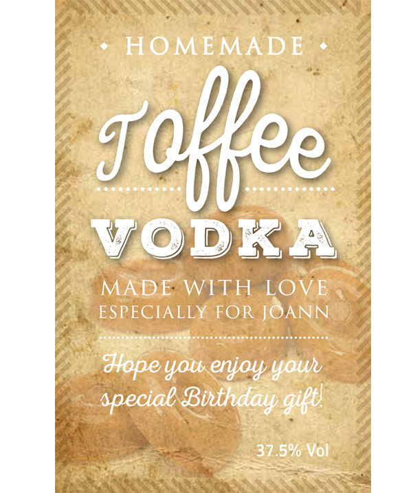 Toffee-Vodka